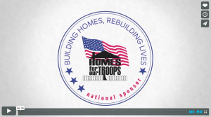 Homes for the Troops