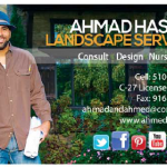 Ahmed hassan Business Card