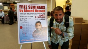 Celebrity Landscaper Ahmed Hassan loves being a role model for change.