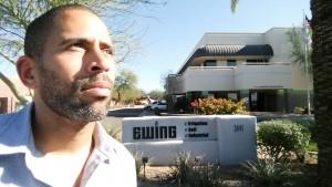 Celebrity Landscaper Ahmed Hassan at Ewing Irrigation in Phoenix, Arizona