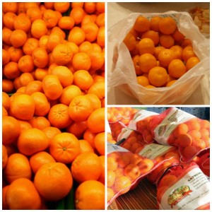 Could you eat ten grocery bags filled with oranges?